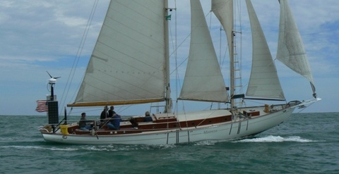 1930 Schooner MISTRESS, Restored, Redesigned, and Rebuilt by Joest Boats